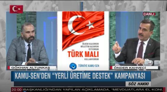 Genel Başkanımız Önder Kahveci Bengü Türk TV'de yayınlanan Söz Hakkı Programının canlı yayın konuğu oldu. Programda ülke gündemini değerlendirdi.